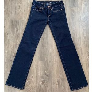 AEO Straight Stretch Jeans